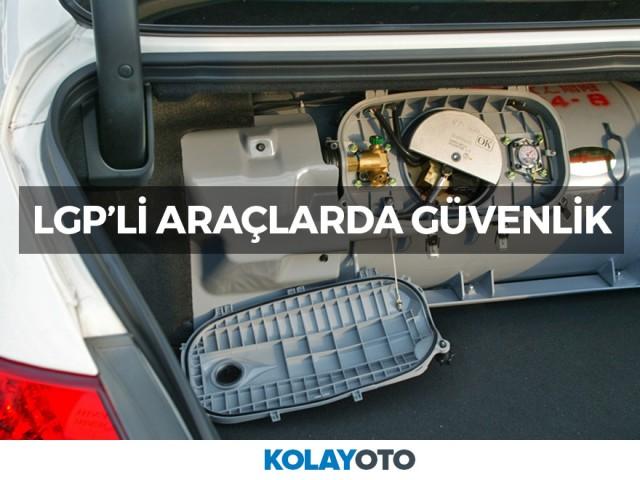 LPG Yakıtlı Araçlarda Güvenlik