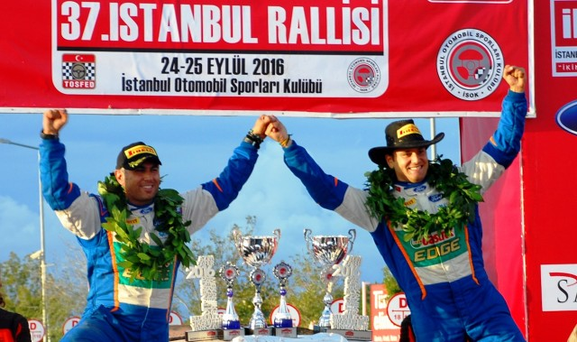 İstanbul Rallisi tamamlandı. Genel Klasman Birincisi Orhan Avcıoğlu ve Burçin Korkmaz!