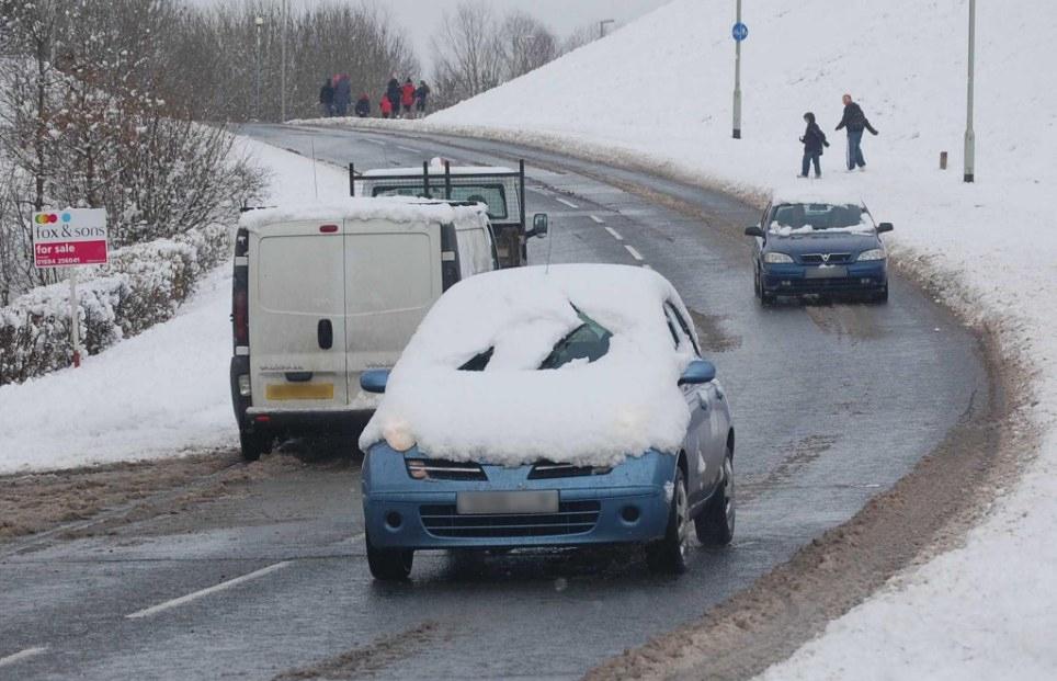 karda nasıl araba sürülür