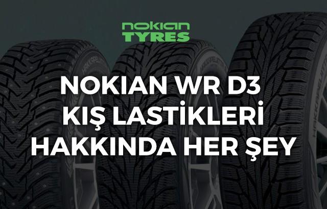 Nokian WR D3 kış lastiği ebatları, yorumları ve fiyatı