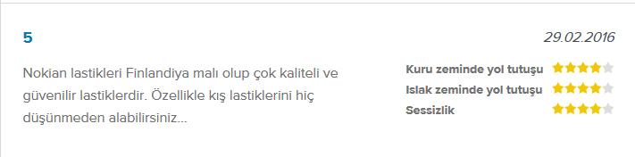 Nokian WR D3 kullanıcı yorumu