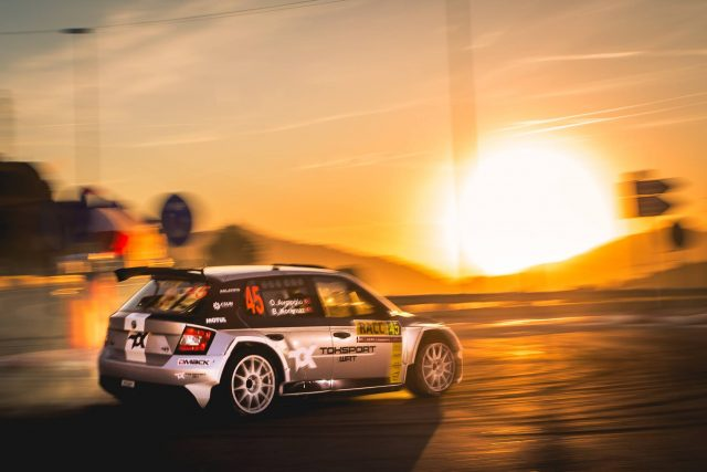 Orhan ve Burçin WRC2'ye Hızlı Başladı!