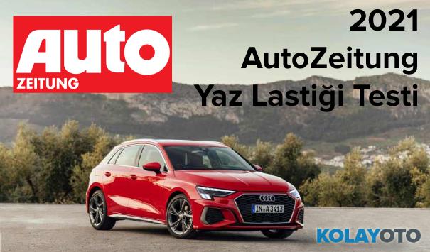 2021 Auto Zeitung Ultra Yüksek Performanslı Yaz Lastiği Testi